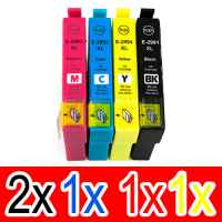 5 Pack Compatible Epson 29XL Ink Cartridge Set (2BK,1C,1M,1Y) High Yield