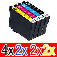 10 Pack Compatible Epson 288XL Ink Cartridge Set (4BK,2C,2M,2Y) High Yield