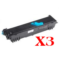 3 x Compatible Epson EPL-6200 EPL-6200L Toner Cartridge High Yield