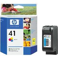 1 x Genuine HP 41 Colour Ink Cartridge 51641AA