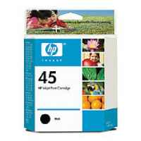 1 x Genuine HP 45 Black Ink Cartridge 51645AA