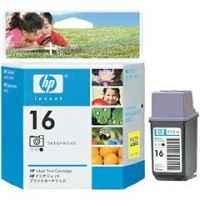 1 x Genuine HP 16 Colour Ink Cartridge C1816AA