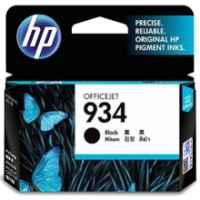 1 x Genuine HP 934 Black Ink Cartridge C2P19AA