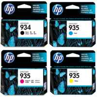 4 Pack Genuine HP 934 935 Ink Cartridge Set (1BK,1C,1M,1Y) C2P19AA C2P20AA C2P21AA C2P22AA