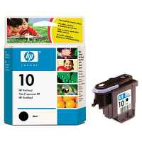 1 x Genuine HP 10 Black Printhead C4800A