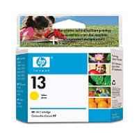 1 x Genuine HP 13 Yellow Ink Cartridge C4817A