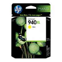 1 x Genuine HP 940XL Yellow Ink Cartridge C4909AA
