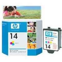1 x Genuine HP 14 Black Ink Cartridge C5011DA