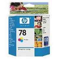 1 x Genuine HP 78 Colour Ink Cartridge C6578DA