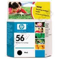 1 x Genuine HP 56 Black Ink Cartridge C6656AA