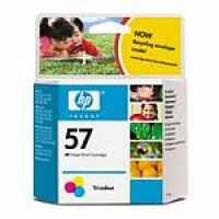 1 x Genuine HP 57 Colour Ink Cartridge C6657AA