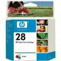 1 x Genuine HP 28 Colour Ink Cartridge C8728AA