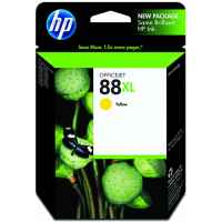 1 x Genuine HP 88XL Yellow Ink Cartridge C9393A
