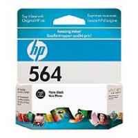 1 x Genuine HP 564 Photo Black Ink Cartridge CB317WA