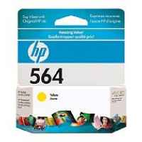 1 x Genuine HP 564 Yellow Ink Cartridge CB320WA