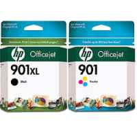 Printer Cartridges for HP 901 (CC653AA - CC656AA)