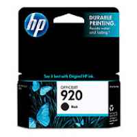1 x Genuine HP 920 Black Ink Cartridge CD971AA