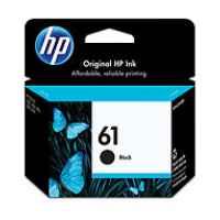 1 x Genuine HP 61 Black Ink Cartridge CH561WA