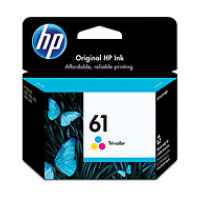 1 x Genuine HP 61 Colour Ink Cartridge CH562WA