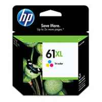 1 x Genuine HP 61XL Colour Ink Cartridge CH564WA
