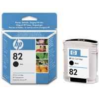 1 x Genuine HP 82 Black Ink Cartridge CH565A