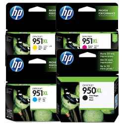 HP 950, 951 & 950XL, 951XL (CN045AA - CN049AA)
