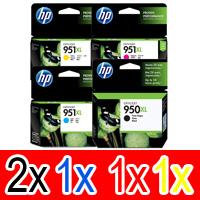 5 Pack Genuine HP 950XL 951XL Ink Cartridge Set (2BK,1C,1M,1Y) CN045AA CN046AA CN047AA CN048AA