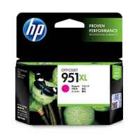1 x Genuine HP 951XL Magenta Ink Cartridge CN047AA