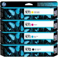 HP 970, 971 & 970XL, 971XL (CN621AA - CN628AA)