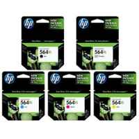 Printer Cartridges for HP 564 & 564XL (CB316WA - CB320WA, CN684WA - CB325WA)