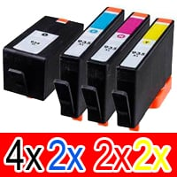 10 Pack Compatible HP 934XL 935XL Ink Cartridge Set (4BK,2C,2M,2Y) C2P23AA C2P24AA C2P25AA C2P26AA
