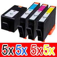 20 Pack Compatible HP 934XL 935XL Ink Cartridge Set (5BK,5C,5M,5Y) C2P23AA C2P24AA C2P25AA C2P26AA