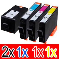 5 Pack Compatible HP 934XL 935XL Ink Cartridge Set (2BK,1C,1M,1Y) C2P23AA C2P24AA C2P25AA C2P26AA