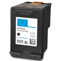 1 x Compatible HP 901XL Black Ink Cartridge CC654AA