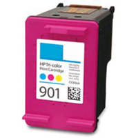 1 x Compatible HP 901 Colour Ink Cartridge CC656AA