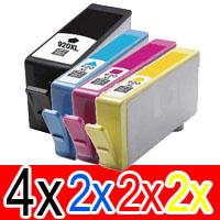 10 Pack Compatible HP 920XL Ink Cartridge Set (4BK,2C,2M,2Y) CD975AA CD972AA CD973AA CD974AA