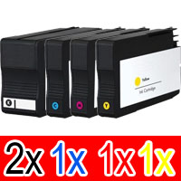 5 Pack Compatible HP 932XL 933XL Ink Cartridge Set (2BK,1C,1M,1Y) CN053AA CN054AA CN055AA CN056AA