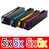 20 Pack Compatible HP 970XL 971XL Ink Cartridge Set (5BK,5C,5M,5Y) CN625AA CN626AA CN627AA CN628AA