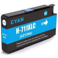 1 x Compatible HP 711 Cyan Ink Cartridge CZ130A