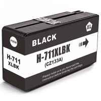 1 x Compatible HP 711 Black Ink Cartridge CZ133A