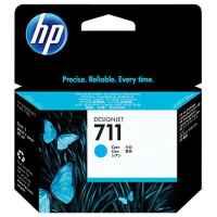 1 x Genuine HP 711 Cyan Ink Cartridge CZ130A