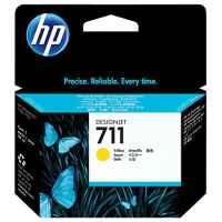 1 x Genuine HP 711 Yellow Ink Cartridge CZ132A