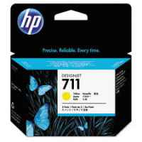1 x Genuine HP 711 Yellow Ink Cartridge CZ136A
