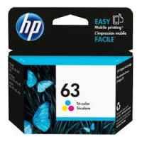 1 x Genuine HP 63 Colour Ink Cartridge F6U61AA