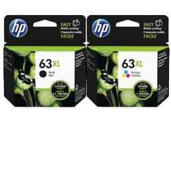 HP 63 & 63XL (F6U61AA - F6U64AA)