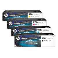4 Pack Genuine HP 976Y Ink Cartridge Set (1BK,1C,1M,1Y) L0R08A L0R05A L0R06A L0R07A