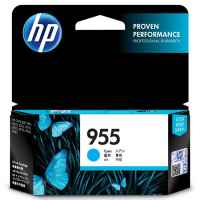 1 x Genuine HP 955 Cyan Ink Cartridge L0S51AA