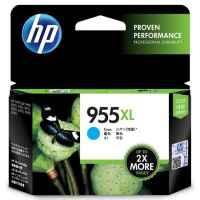 1 x Genuine HP 955XL Cyan Ink Cartridge L0S63AA