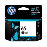 1 x Genuine HP 65 Black Ink Cartridge N9K02AA