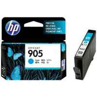 1 x Genuine HP 905 Cyan Ink Cartridge T6L89AA